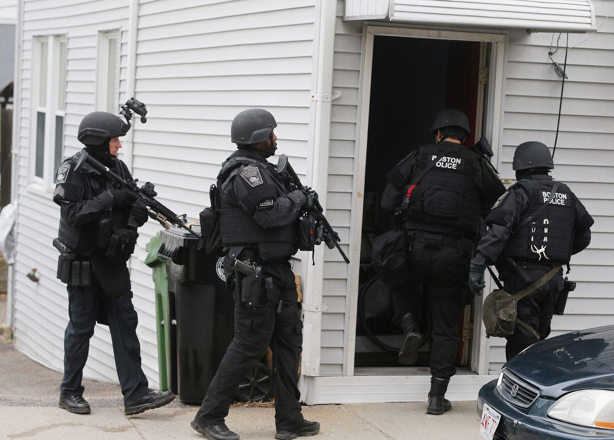A SWAT team.