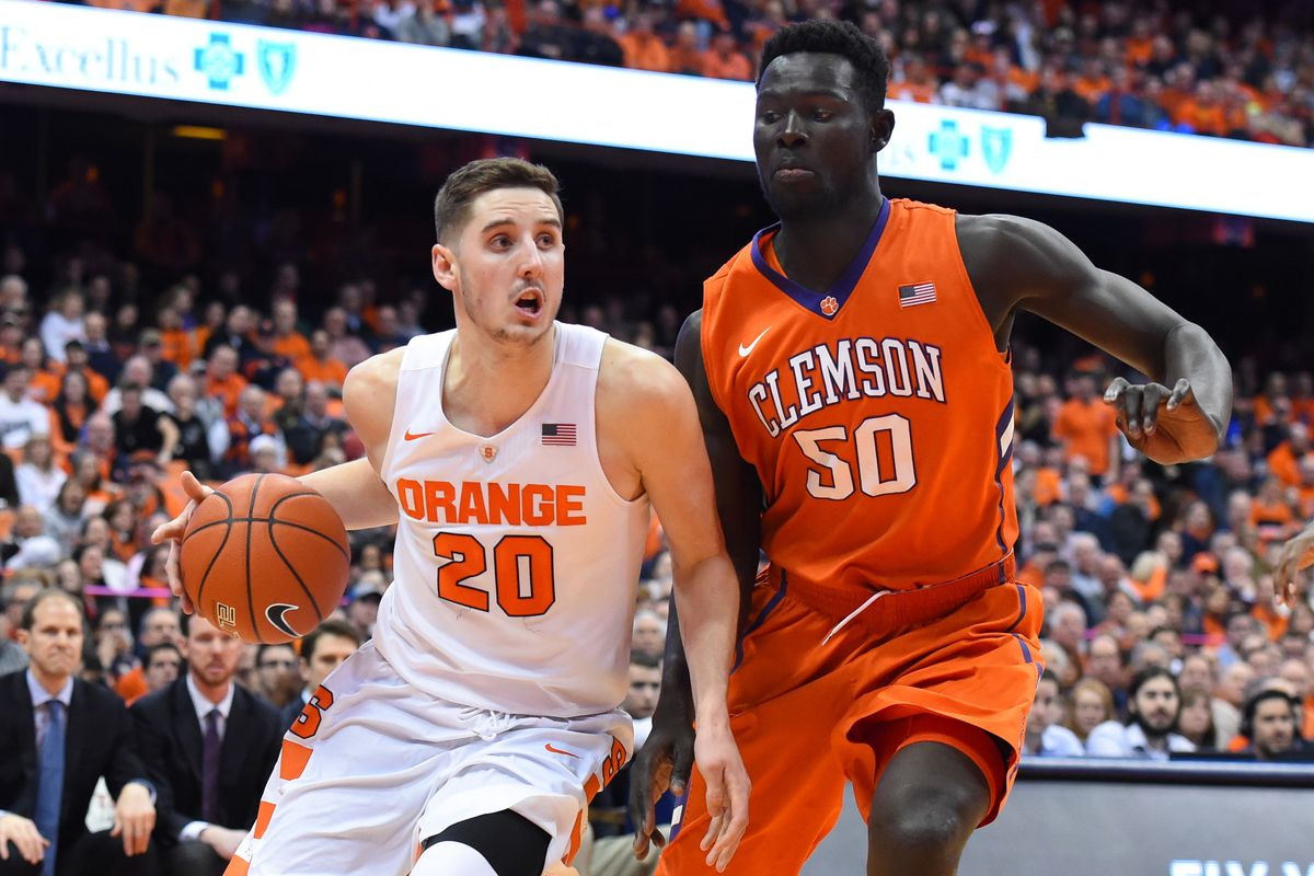super popular 3b0a5 591a8 Syracuse vs. Clemson basketball preview: Three things to ...