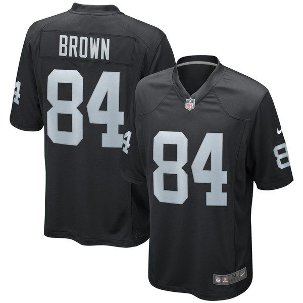Here's what the new Antonio Brown Oakland Raiders jerseys look ...