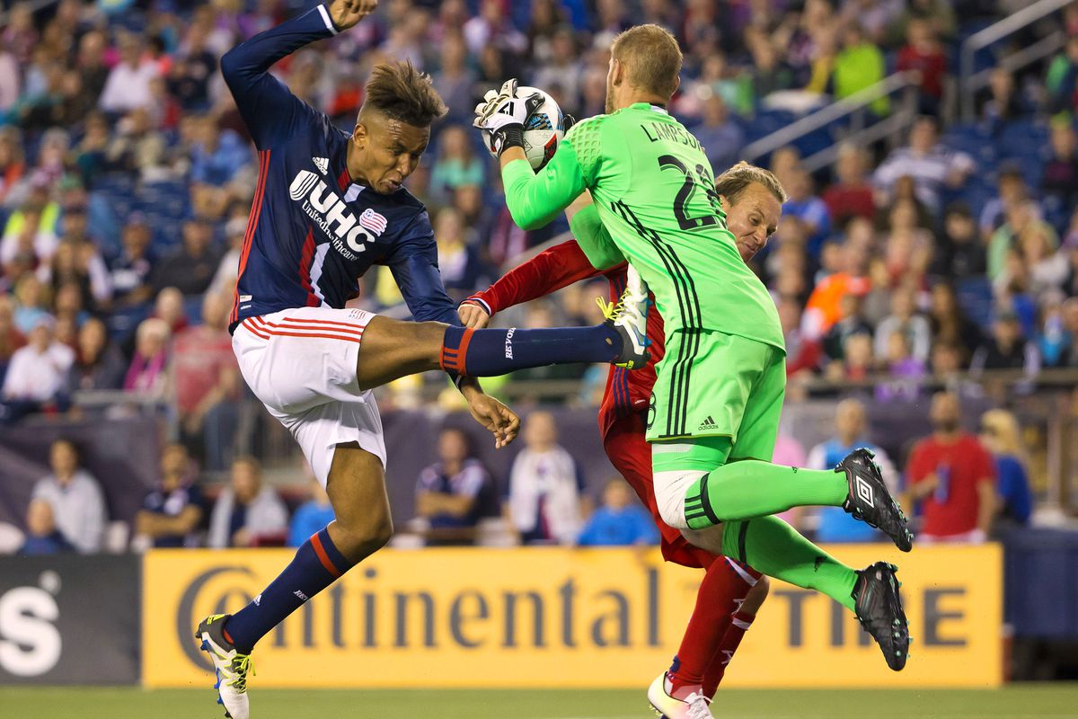 It was not just the Fire's pride the Revs kicked around Saturday night