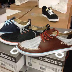 Some men's Adidas SLVRs
