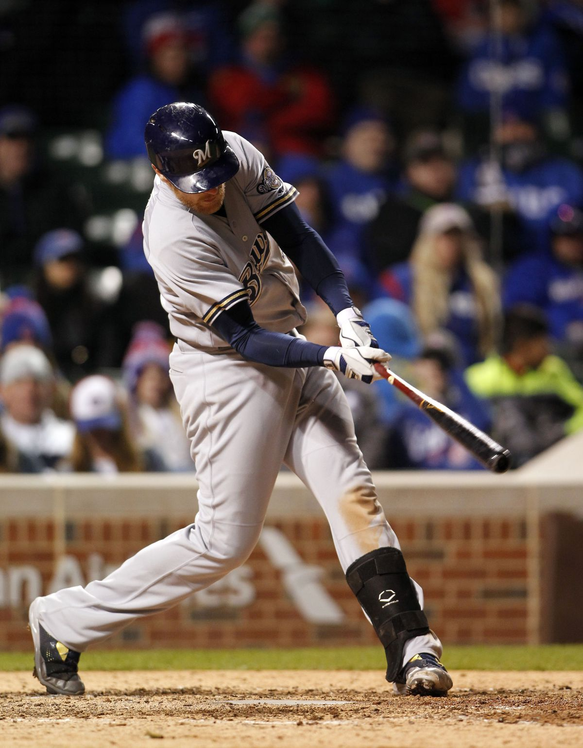 MLB: Milwaukee Brewers at Chicago Cubs