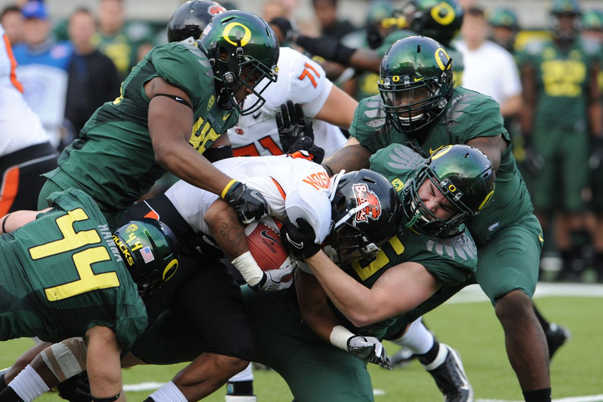 Oregon And The 46 Defense
