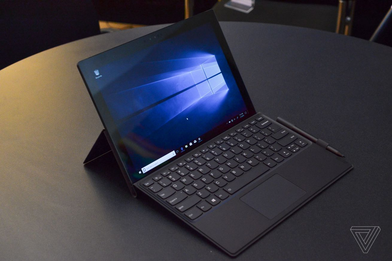lenovo unveils its arm powered windows 10 laptop 2 in 1