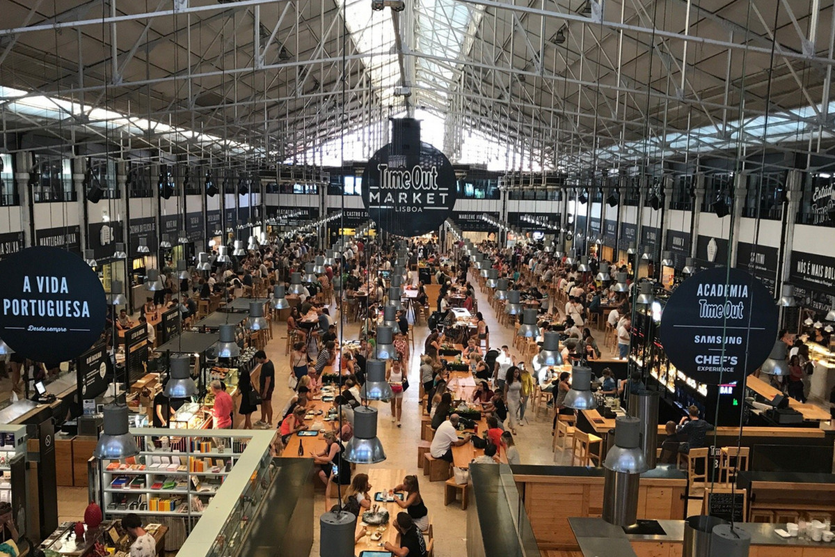 Time Out Market Lisbon — Time Out Market London food hall will no longer arrive in Waterloo in 2021