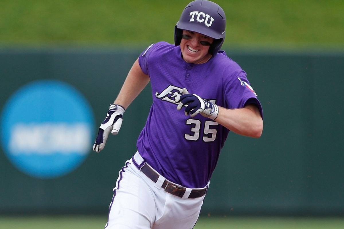 Jantzen Witte helped the Frogs slam their way to a win on Saturday.
