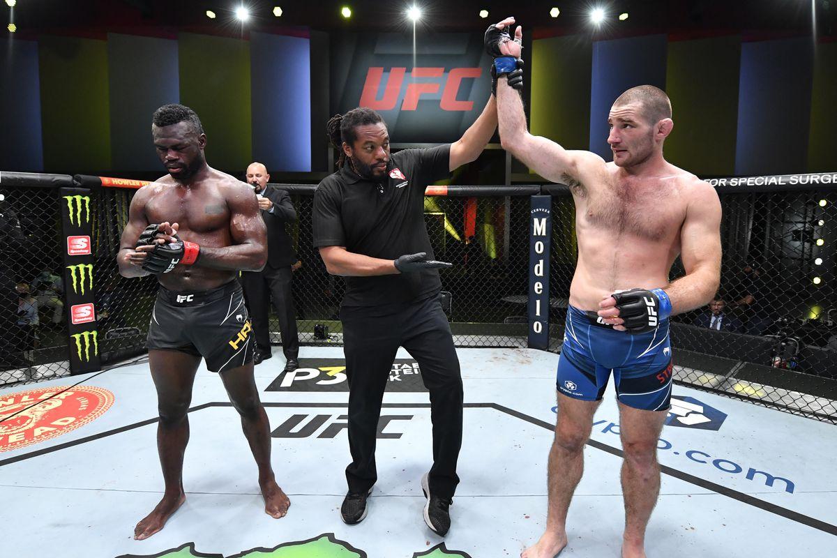UFC Vegas 33 Sean Strickland