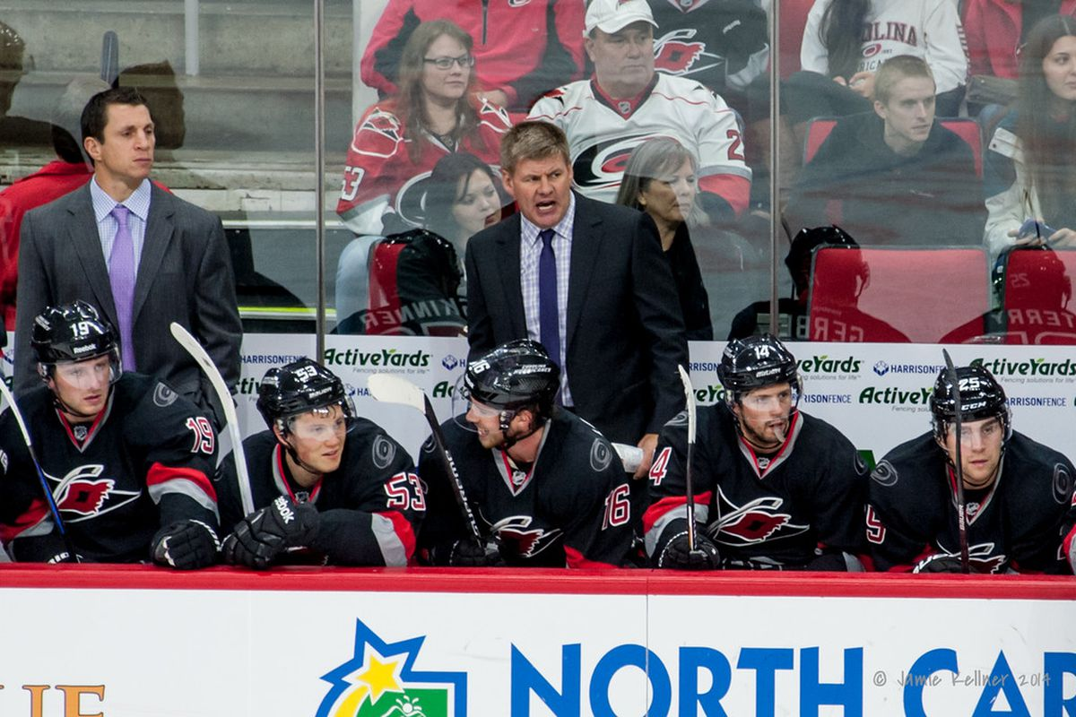 New coach Bill Peters is finally seeing the fruits of his labor with Carolina reeling off three straight wins.