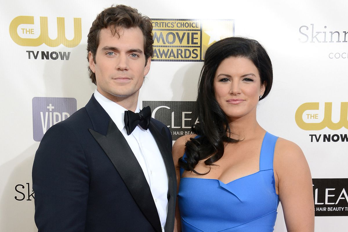 Man of Steel's Henry Cavill rids himself of Gina Carano in ...