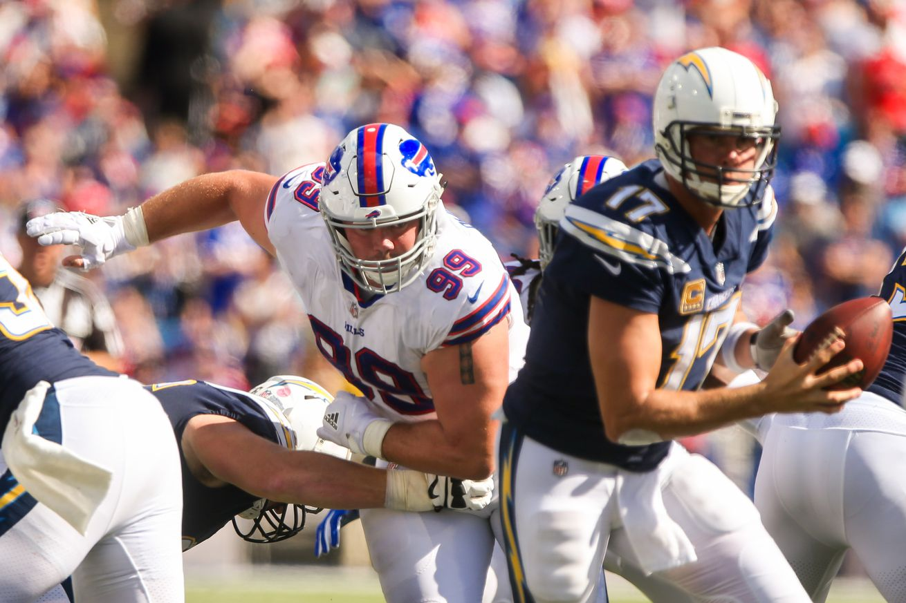 NFL: SEP 16 Chargers at Bills