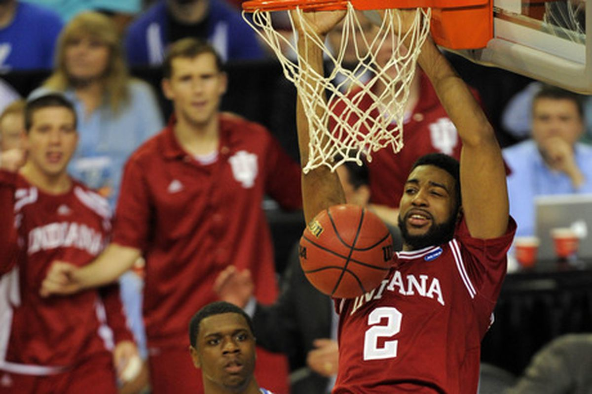 Christian Watford was the main man for Indiana in the Hoosier win over Kentucky last season.