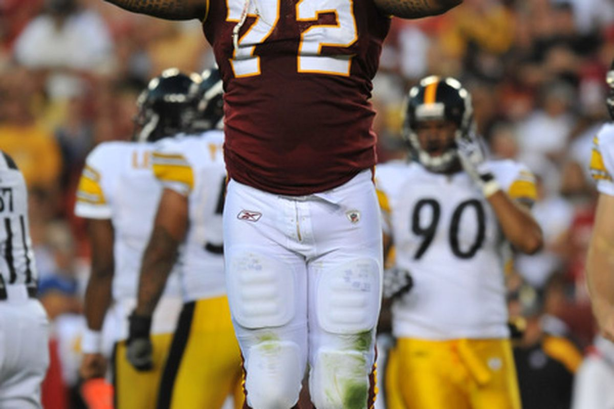 The Washington Redskins played a great...preseason game. Still, there is lots to celebrate for Redskins fans.
