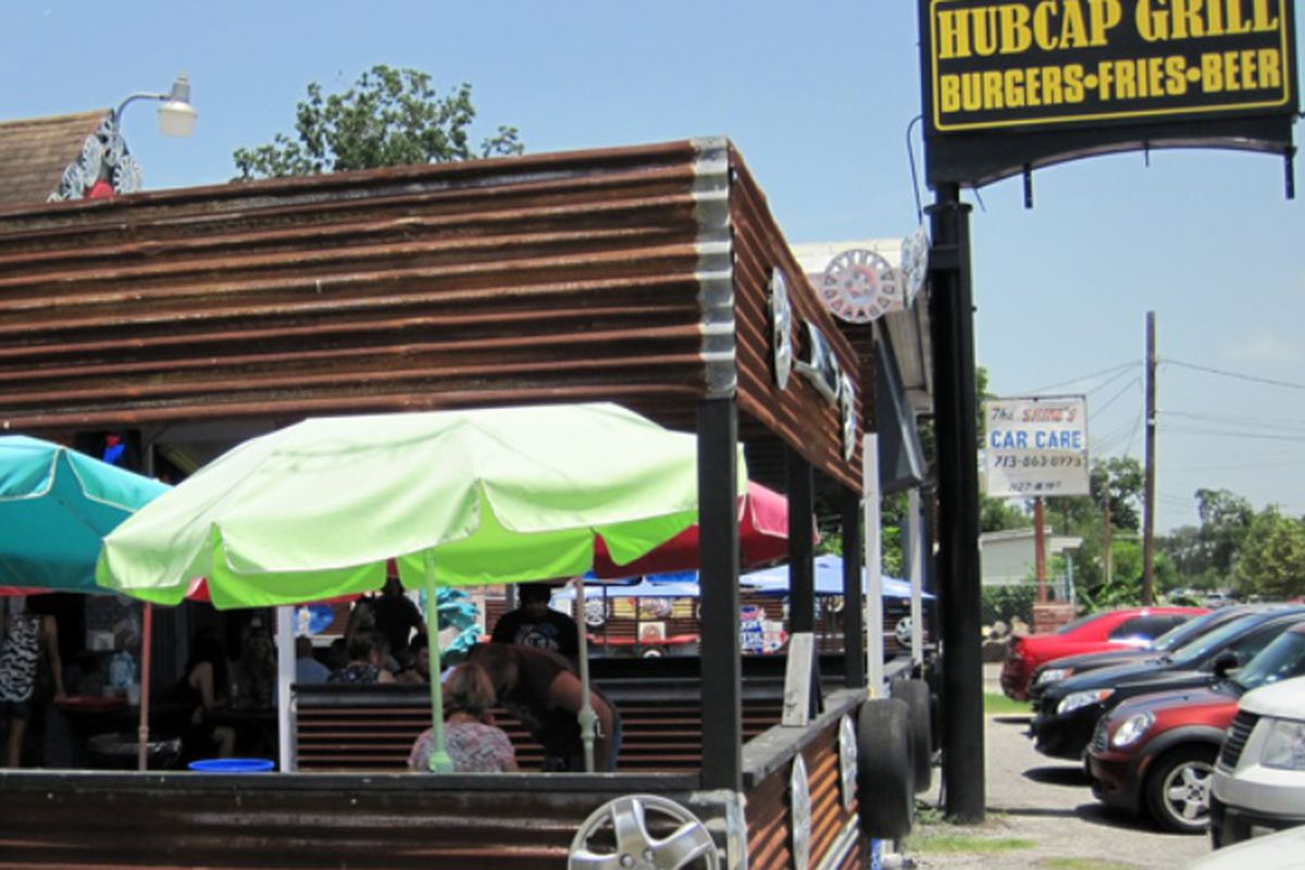 Hubcap Grill in the Heights.