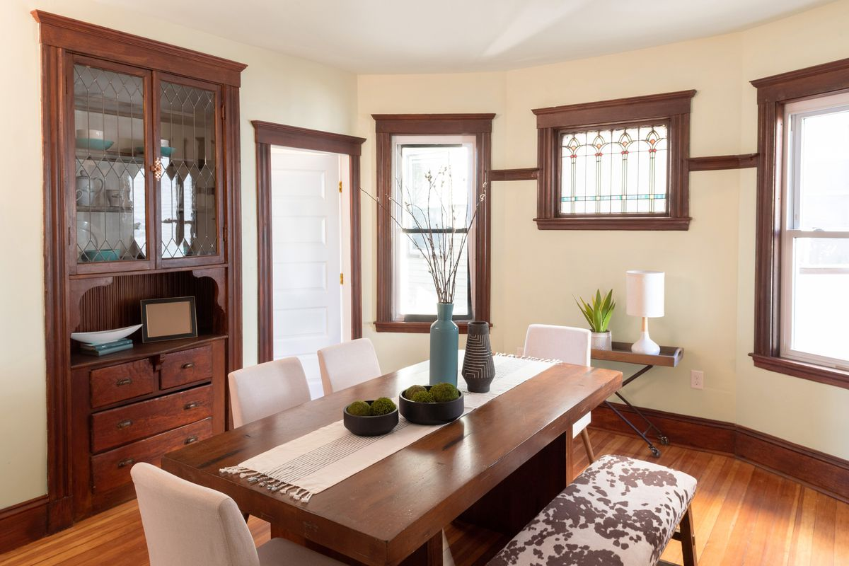 Fall 2021, Dorchester reveal, 2nd floor dining room