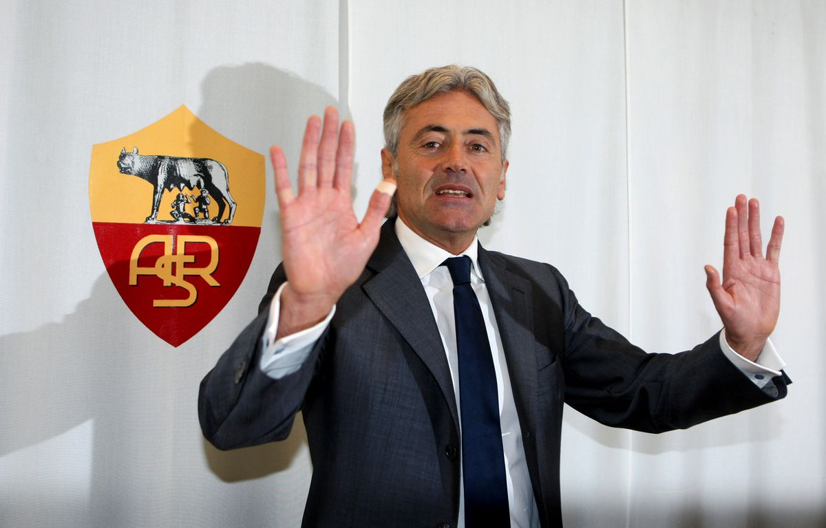 AS Roma Unveils New General Manager Franco Baldini