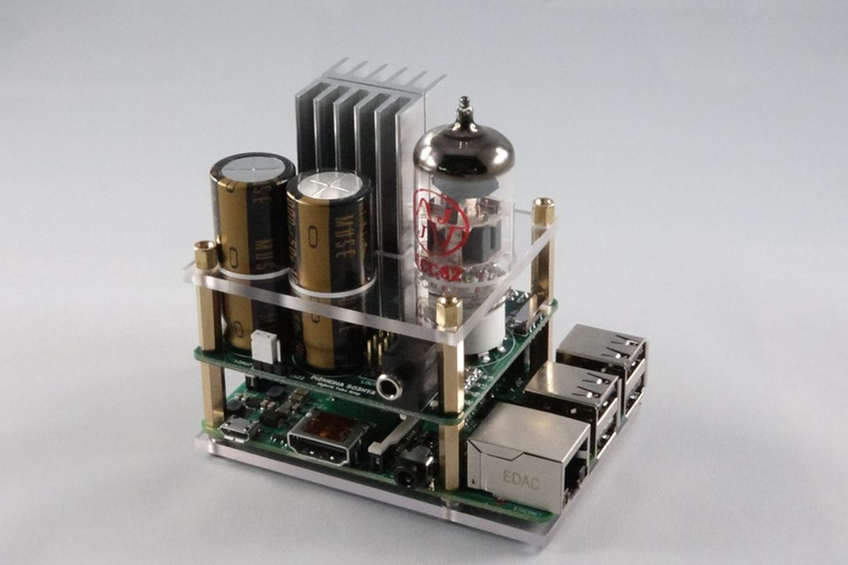 Raspberry Pi tube amp lets you use $1,300 headphones with your $35