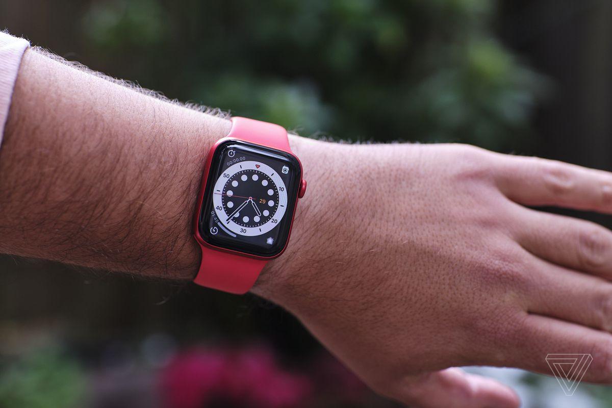 A new Apple Watch watch face