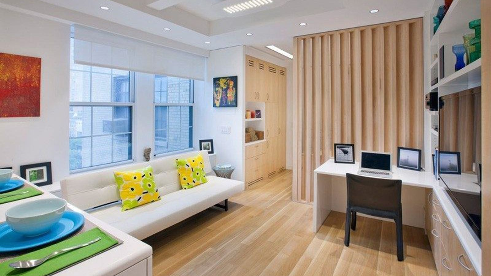 How to fit 5 rooms in a 340 square foot nyc apartment for 11x12 room in square feet
