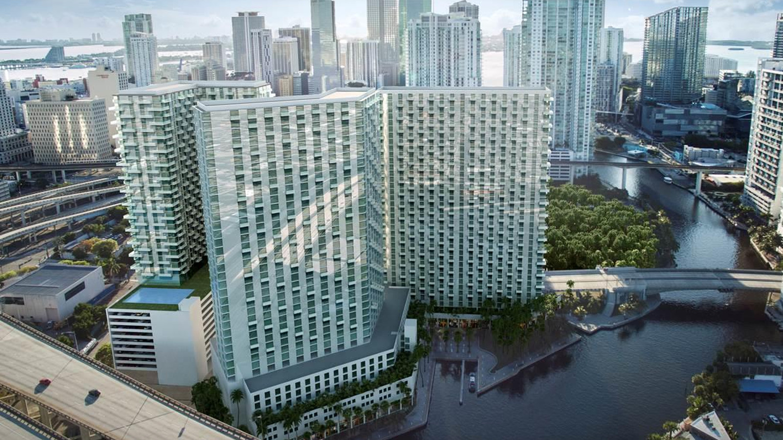 miami riverside center may be razed for apartment project. Black Bedroom Furniture Sets. Home Design Ideas