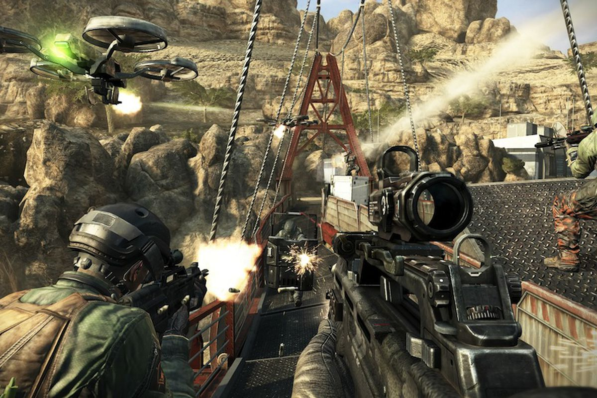 Call Of Duty Black Ops 2 Offers Texture Installation On Ps3