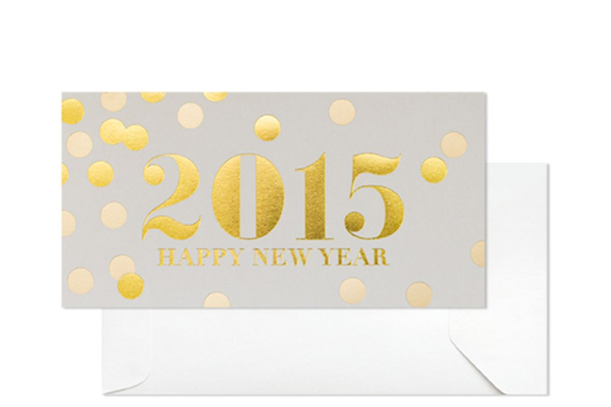 """Sugar Paper 2015 cards, <a href=""""https://sugarpaper.com/shop/product/2015-boxed/"""">$30</a> for a box of six"""