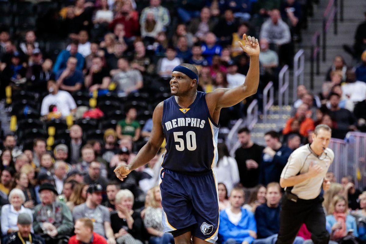 9407bd14b07 Memphis Grizzlies announce retirement of Zach Randolph s  50 ...