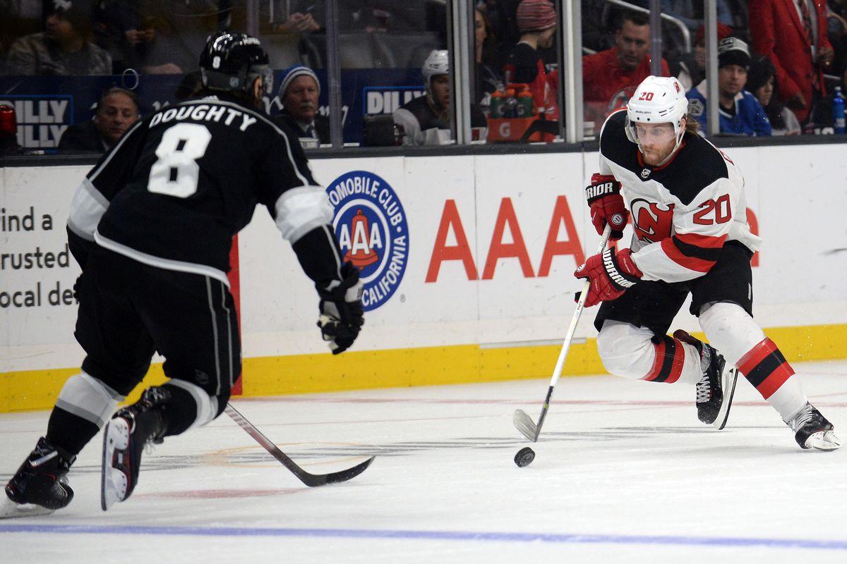 New Jersey Devils   Los Angeles Kings Game  29 Recap  The Rebuild ... 2f811d814