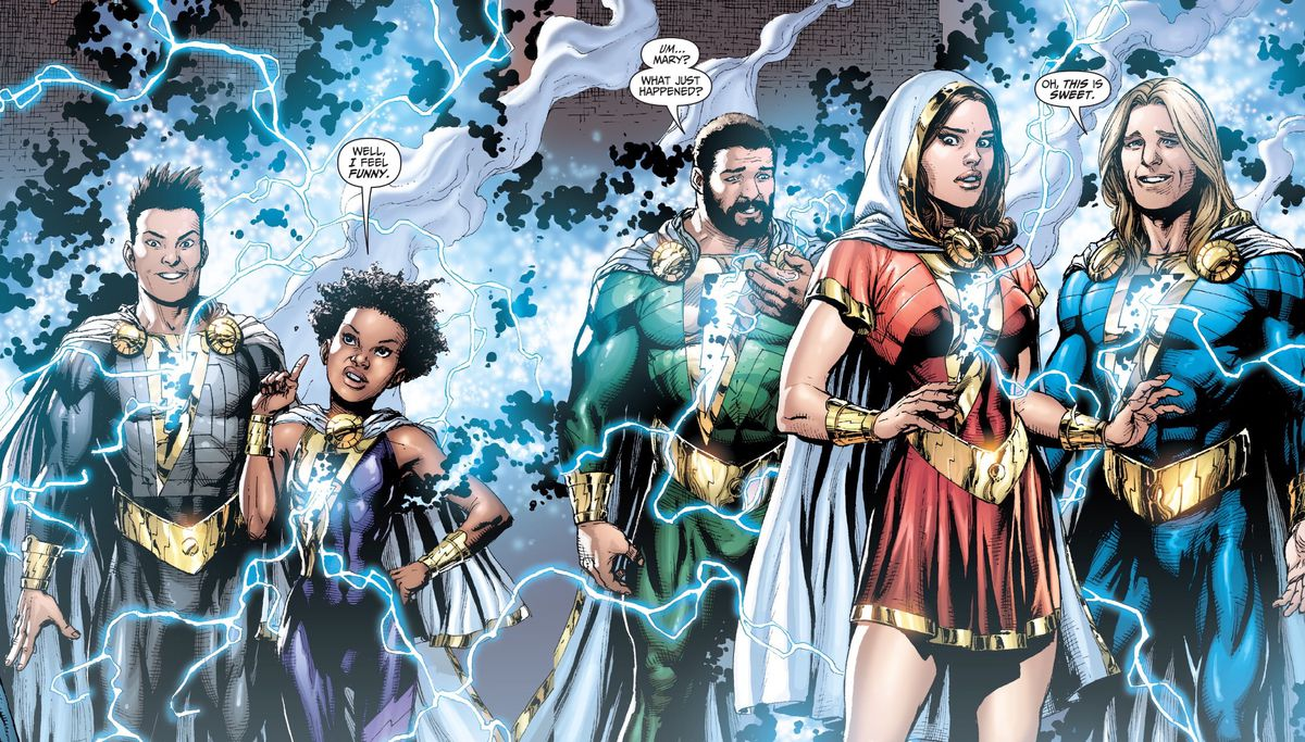 """沙扎如何成为""""家庭""""超级英雄?"""