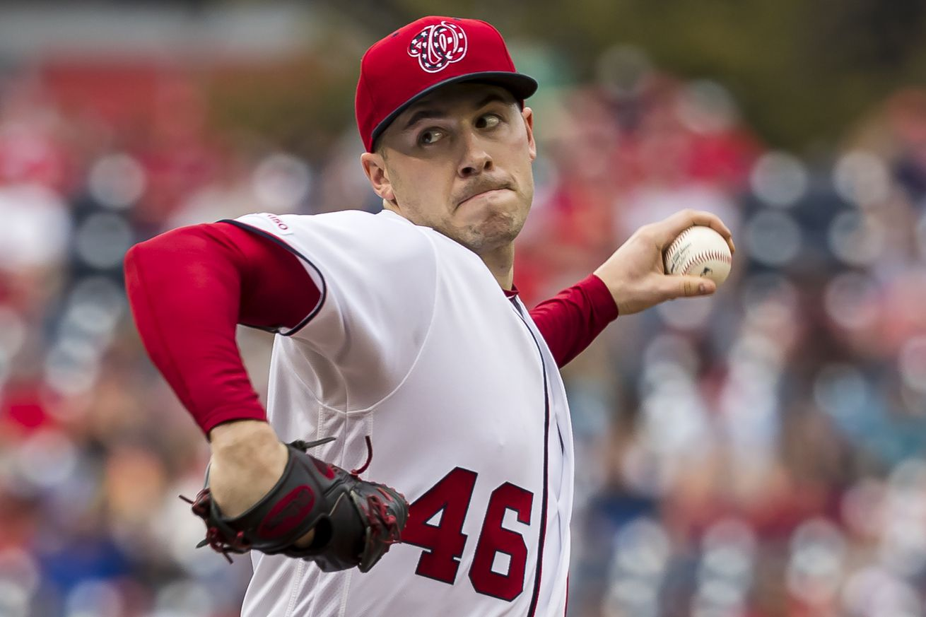 Patrick Corbin struggles in final regular season start of first year with Nationals