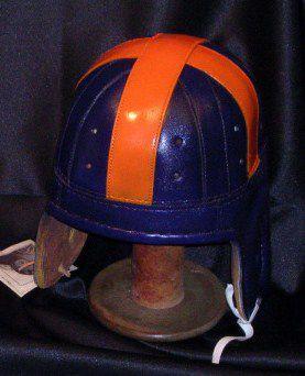 Clemson Leather Helmet
