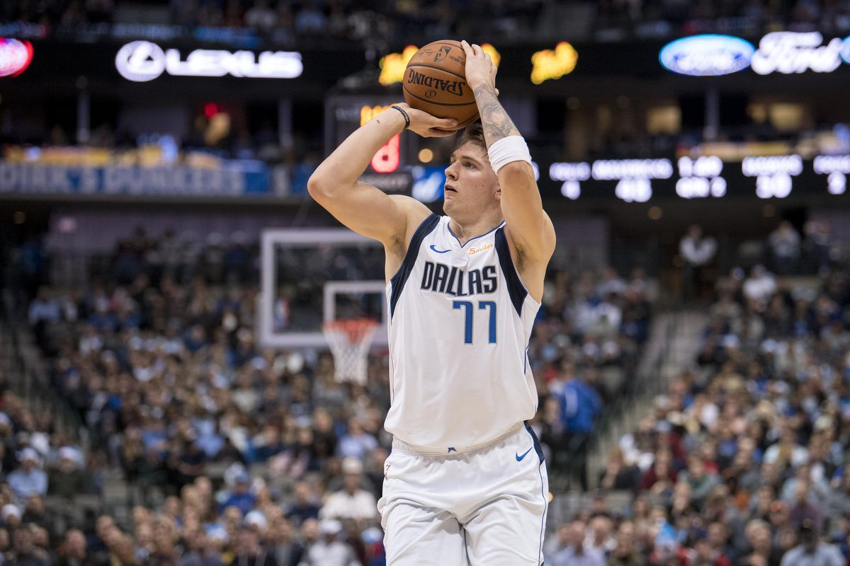 ... Doncic Nails an Unreal Three-Pointer At the Buzzer Doncic lived up to  his billing c58978c56