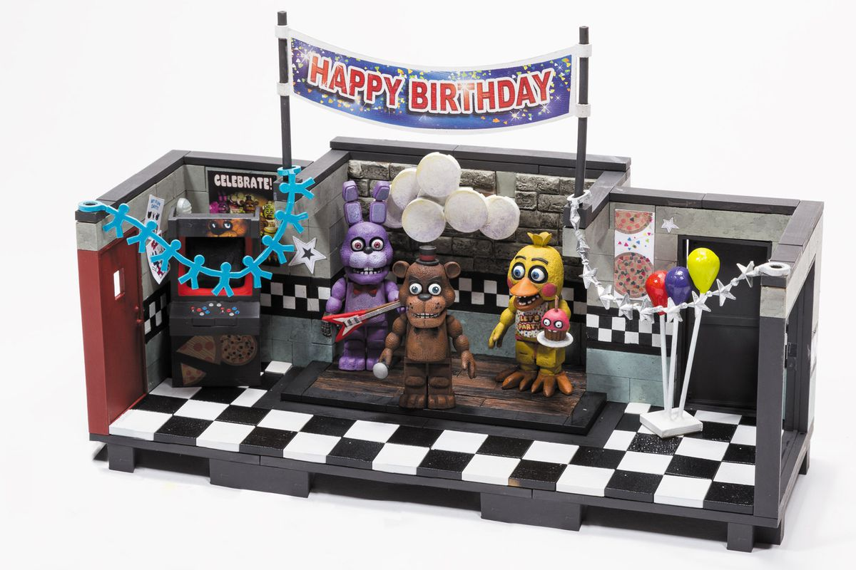 Five Nights At Freddy S Play Sets Coming From Mcfarlane