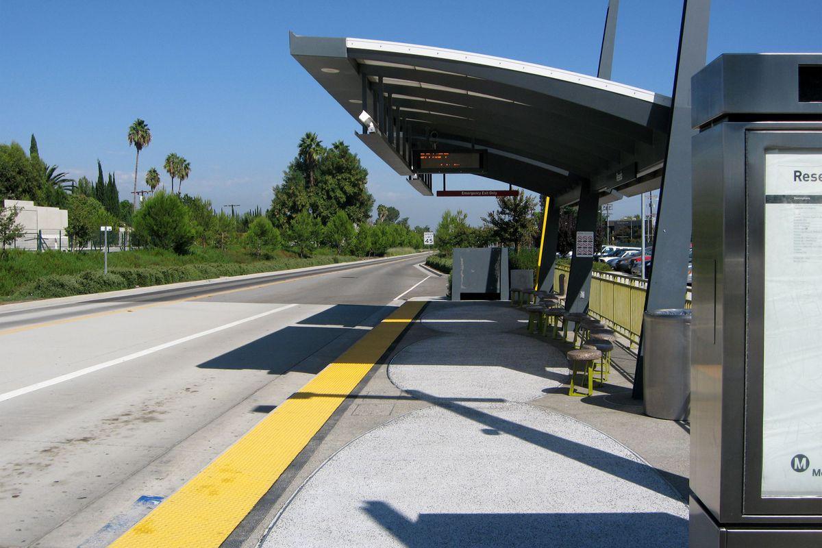 Reseda Orange Line stop