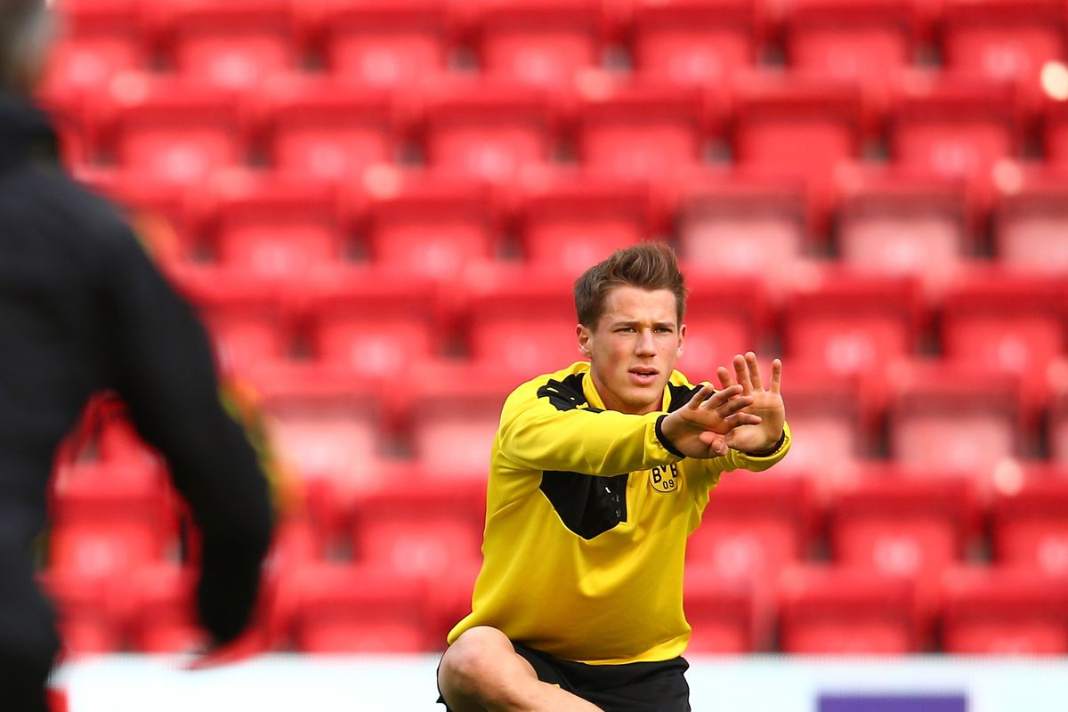 Borussia Dortmund Training Session and Press Conference
