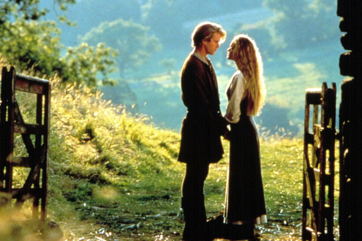 Westley (Cary Elwes) and Buttercup (Robin Wright) in The Princess Bride