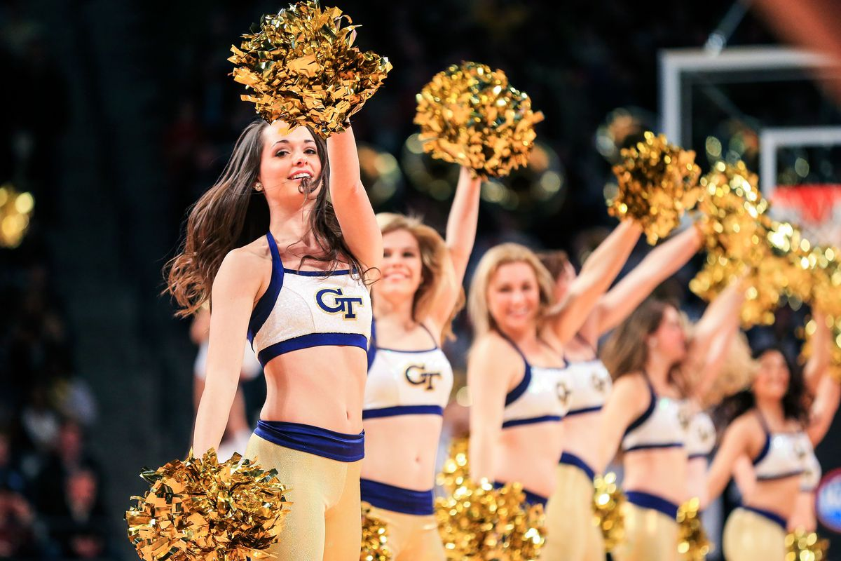 Wake Forest plays Georgia Tech today. These ladies are not here.