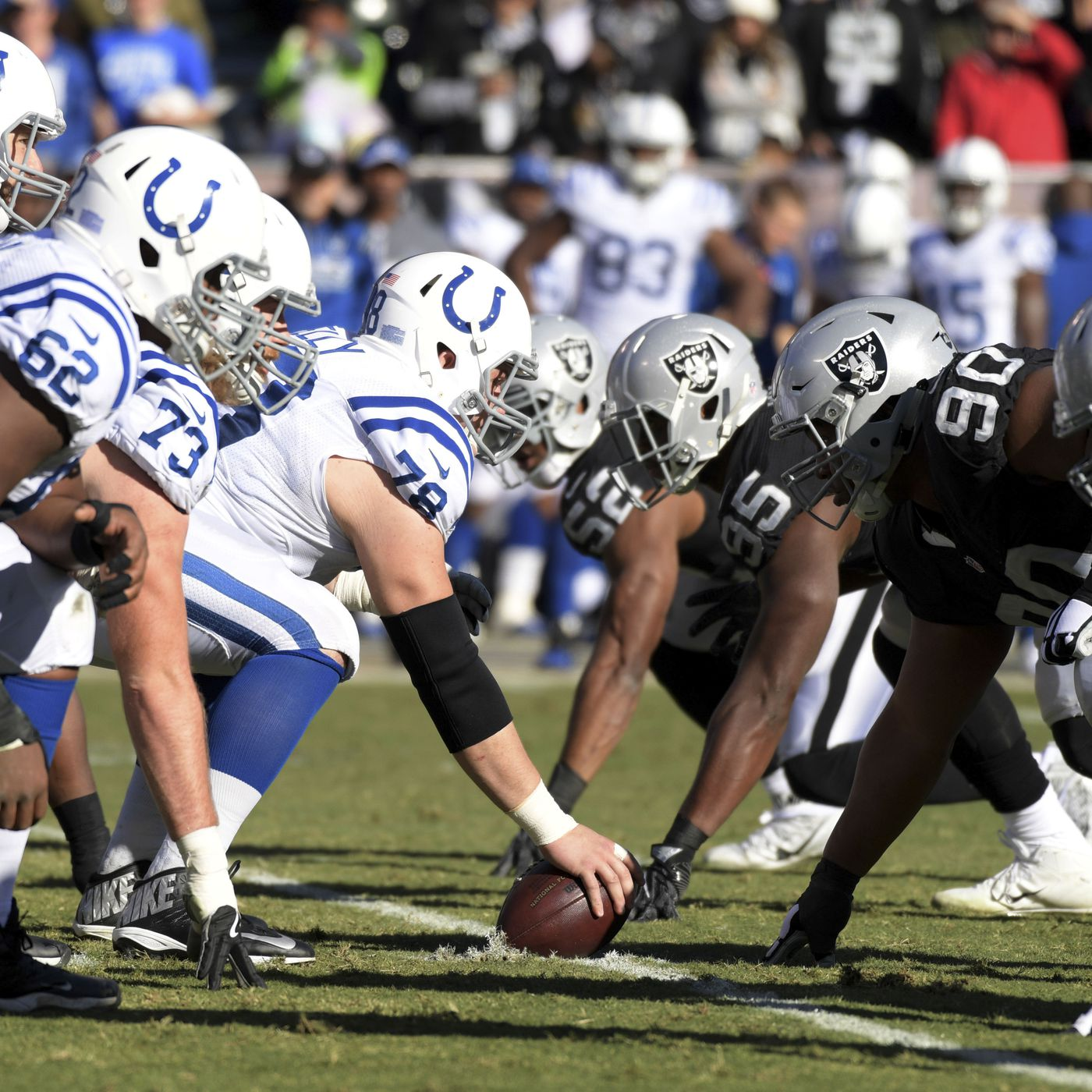 Colts 2016 Season In Review Week 16 Loss To The Raiders
