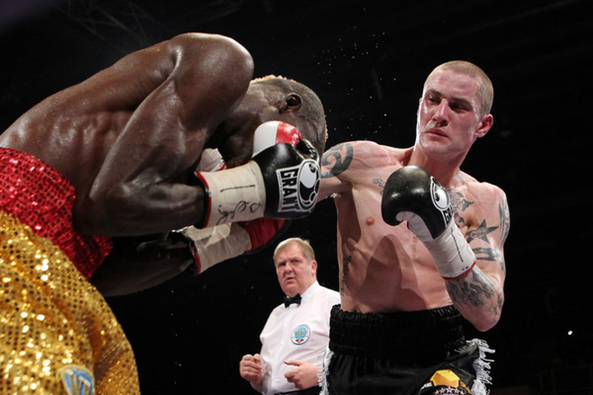 Ricky Burns will travel to the States to face Adrien Broner in November. (Photo by Ian MacNicol/Getty Images)