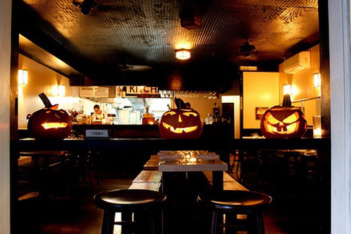 Happy Halloween from 6th Street Kitchen