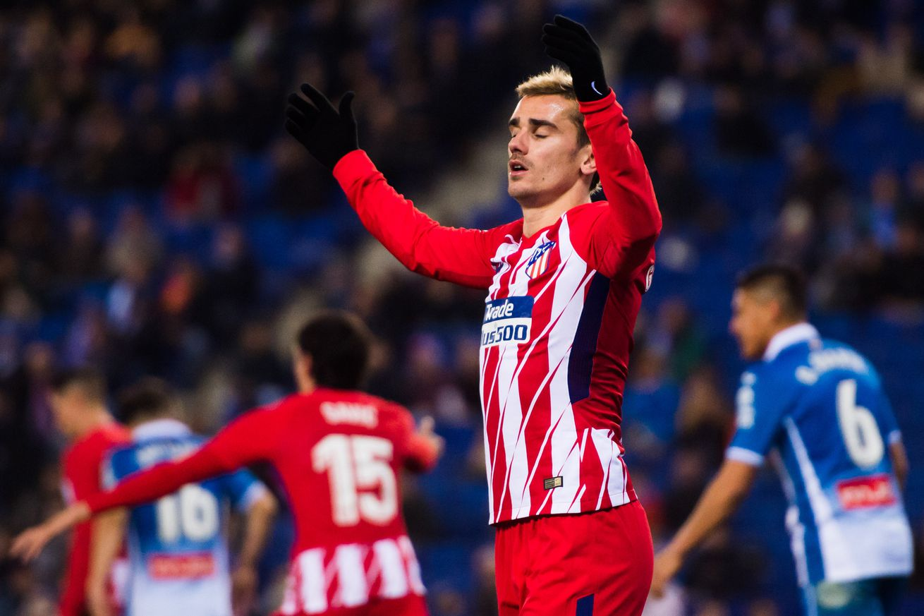 A statistical look at Antoine Griezmann?s changing role at Atlético