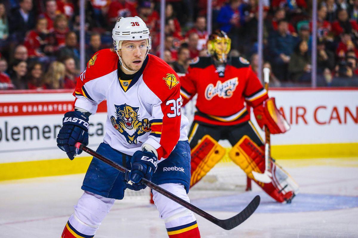 NHL: Florida Panthers at Calgary Flames