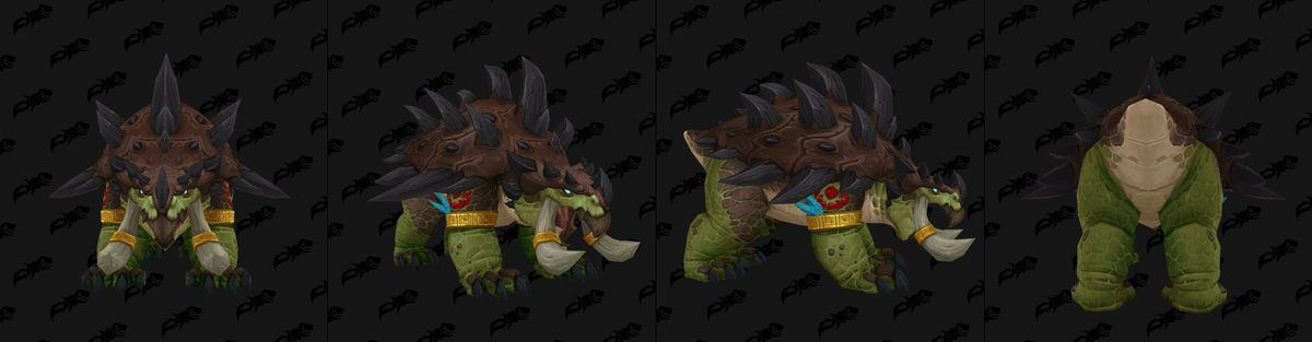 Zandalari Troll Druids are getting their own forms in World