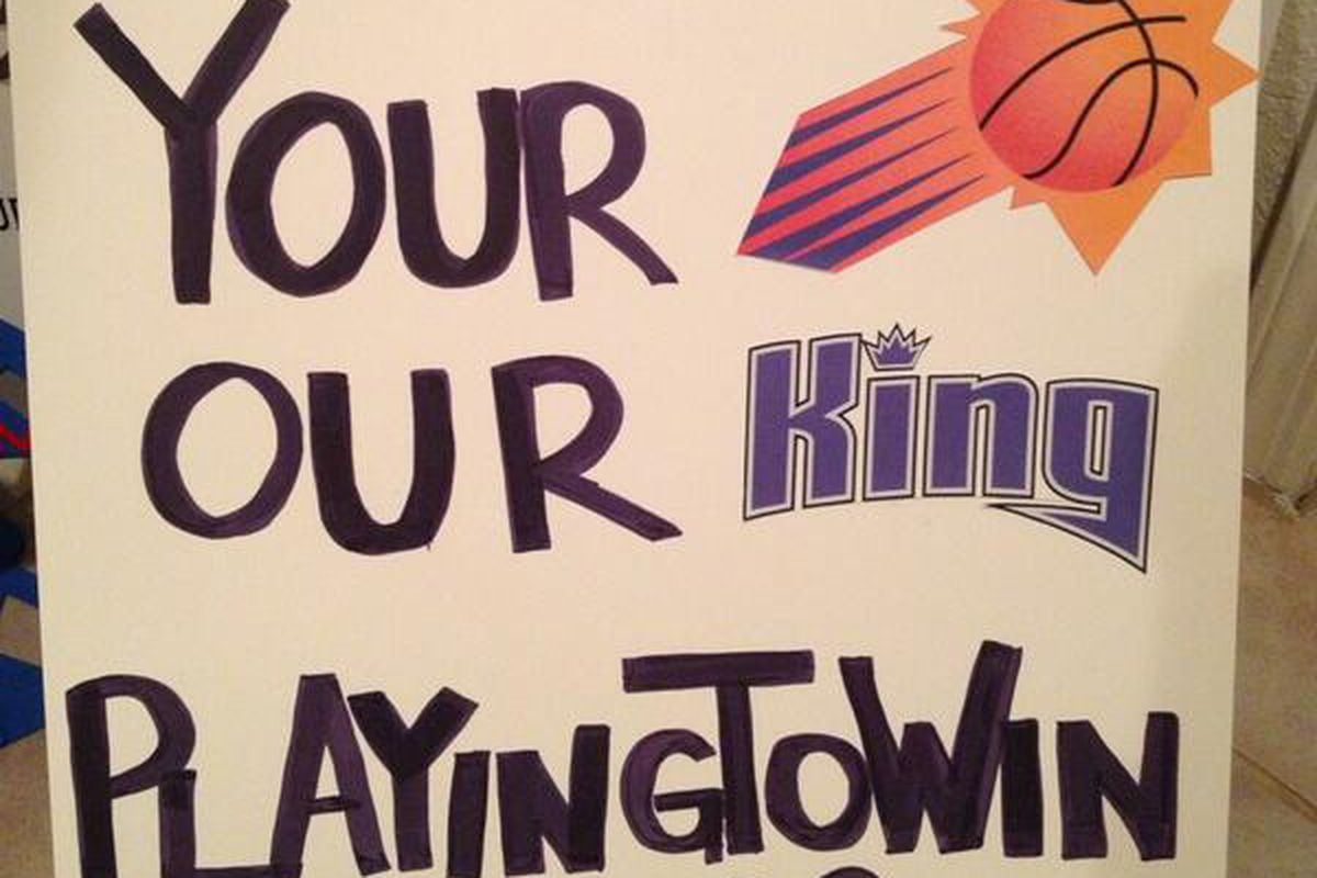 One of the signs @LTrain5 is bringing to #HereWeStayPHX tonight