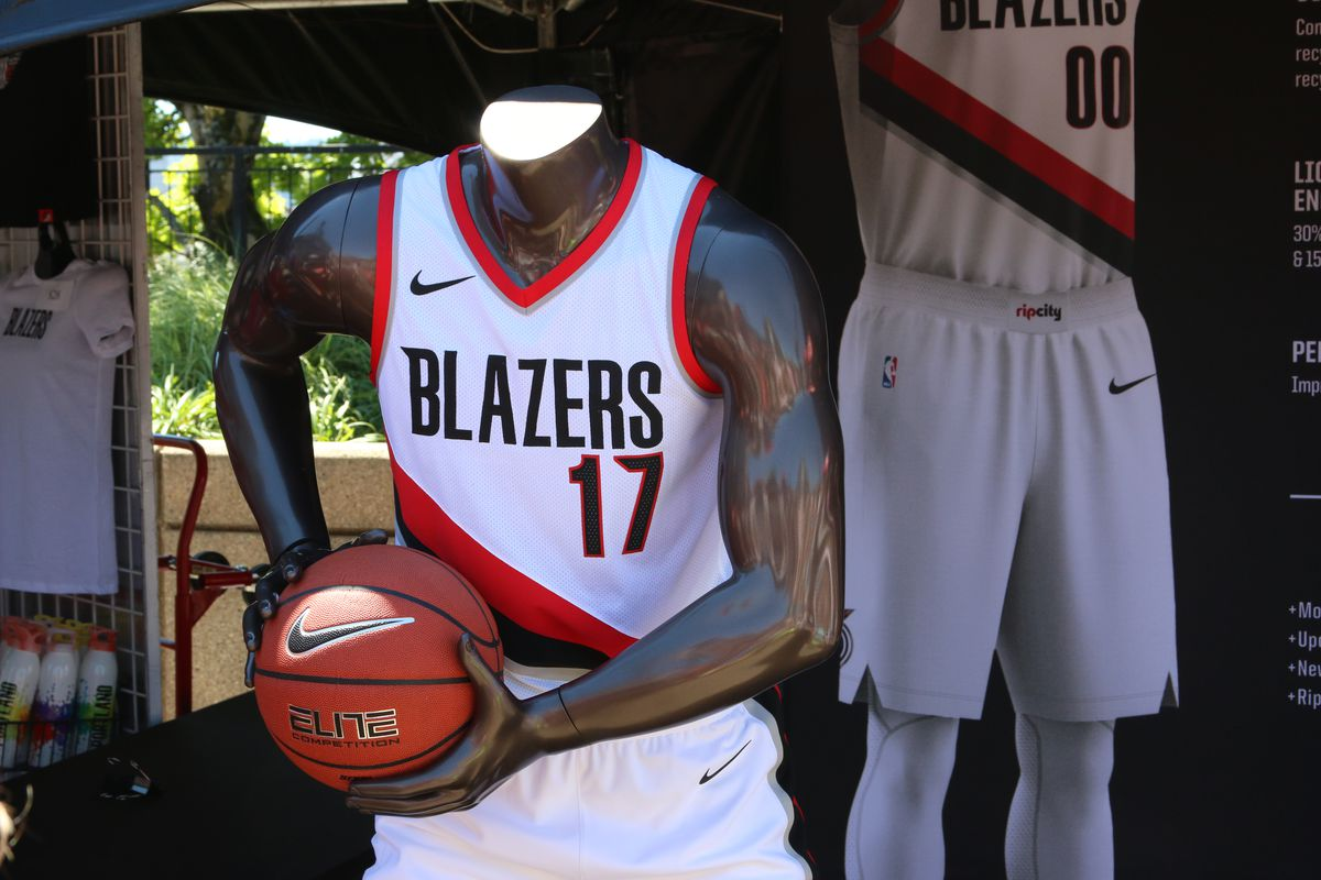 c38980718 Portland Trail Blazers Unveil New Uniform Editions (Photos ...