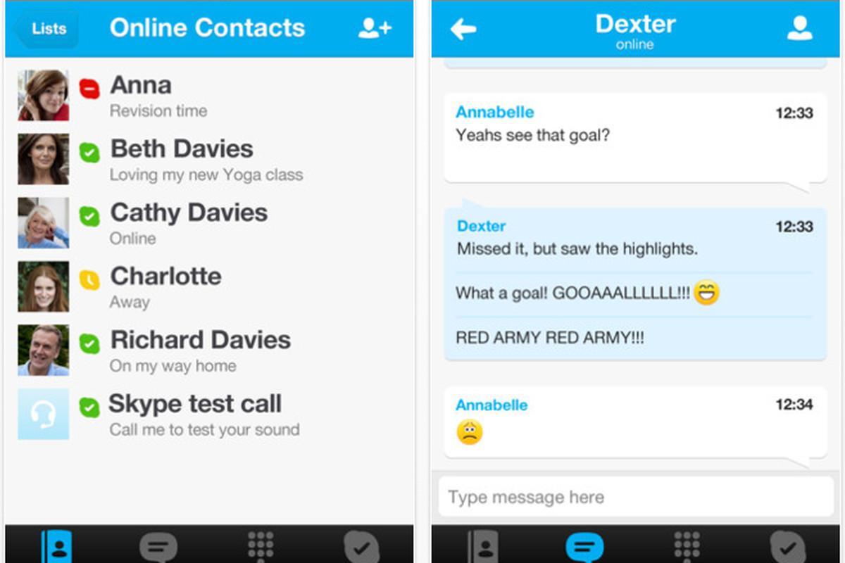 Skype 4.0 iOS update