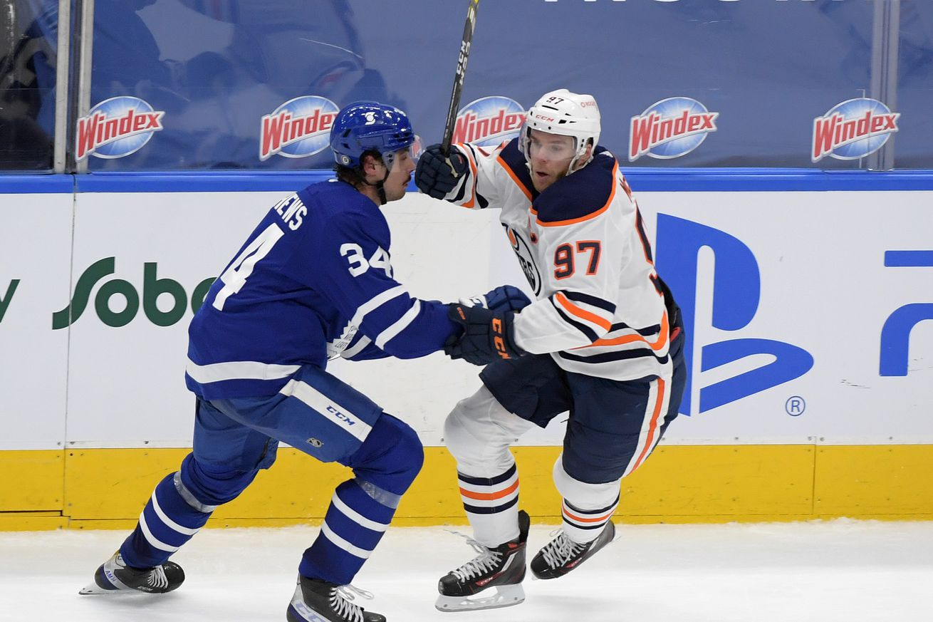 NHL: Edmonton Oilers at Toronto Maple Leafs