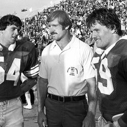 Whittingham father and sons: Cary (54), Fred (coach) and Kyle (59)