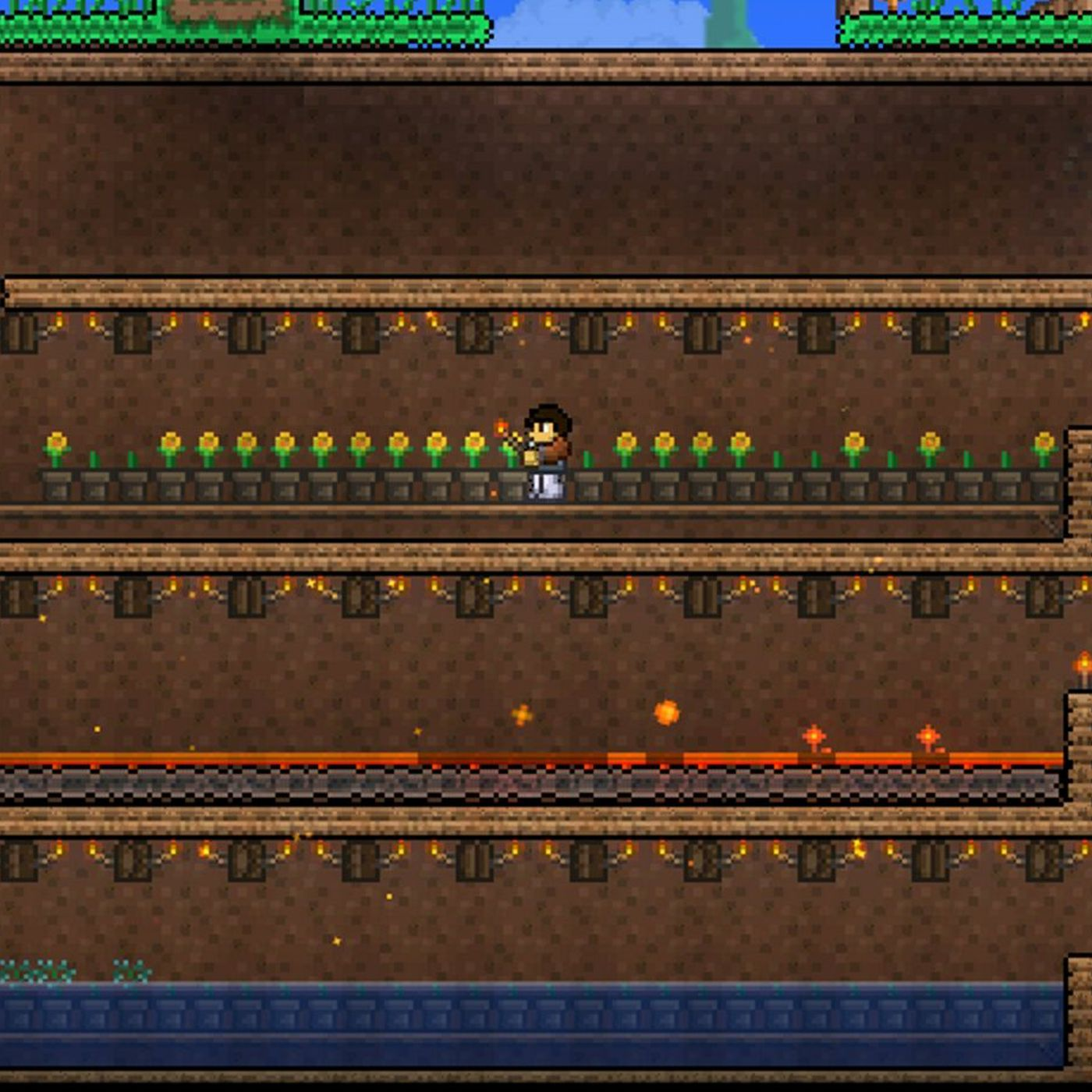 Terraria review: gold mine gutted | Polygon