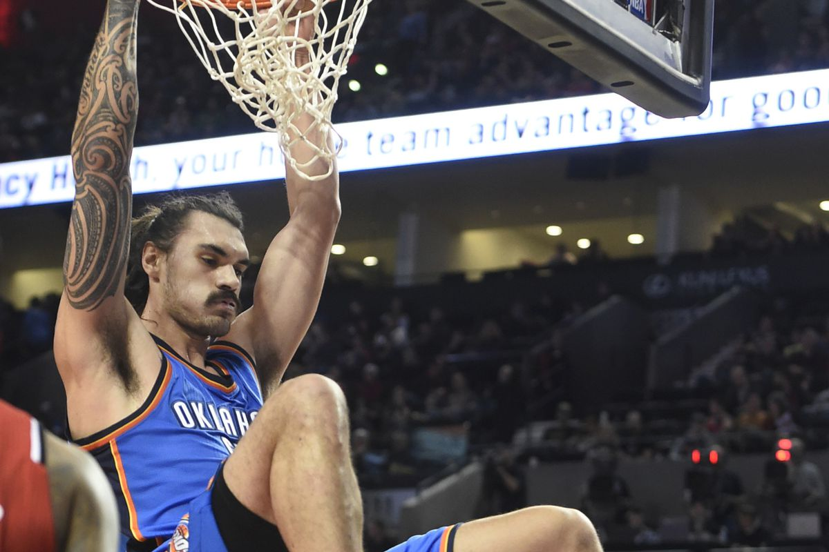 Steven Adams is worth rostering right now...