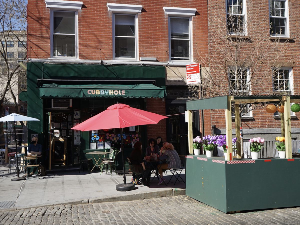 A photo of Cubbyhole in the West Village